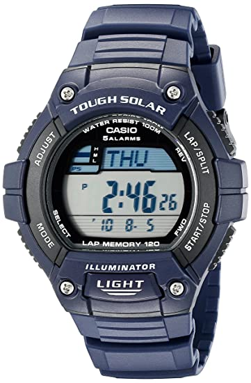 Casio WS220-2AV - Reloj deportivo (51,7 x 49,8 x