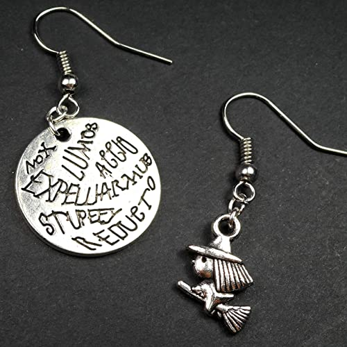 amazon com harry potter magic spells wizard on broomstick charms