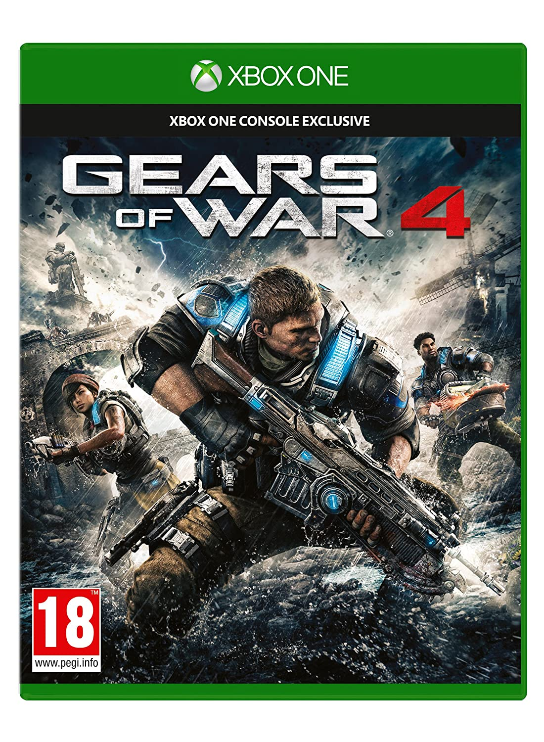 Gears Of War 4 (Xbox One): Amazon co uk: PC & Video Games