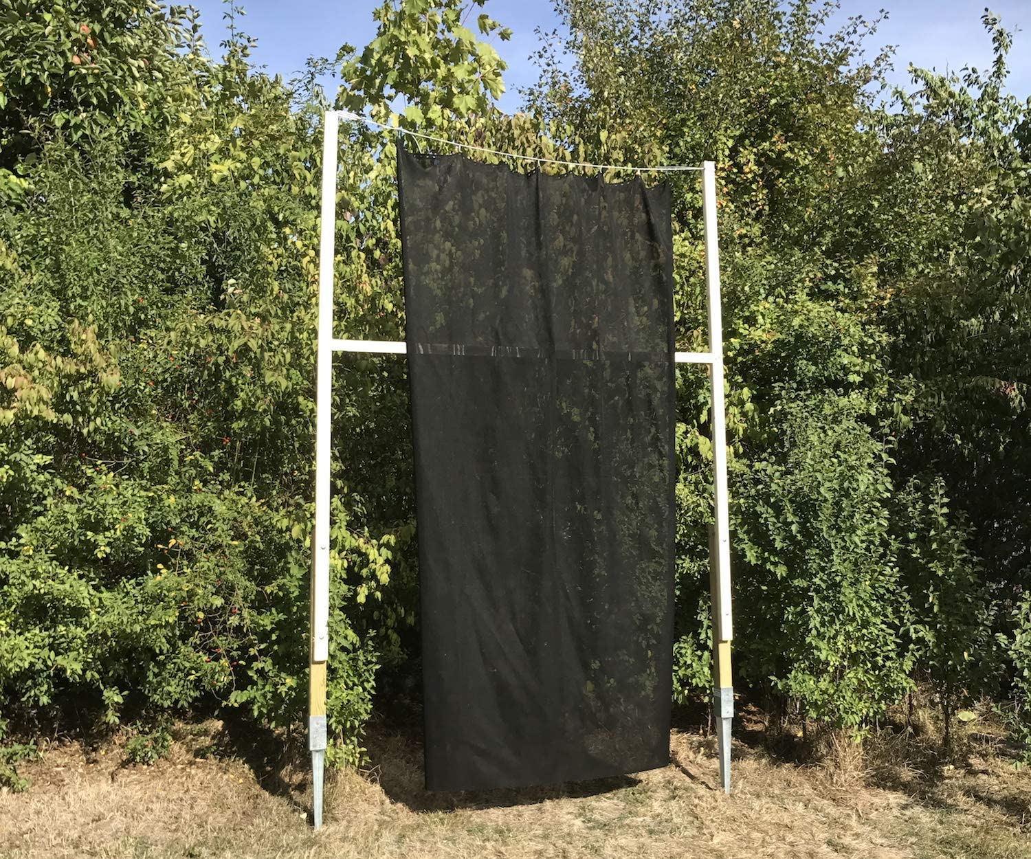 wide high extra safe 4m fixtures Backstop-Netting green incl x 3m