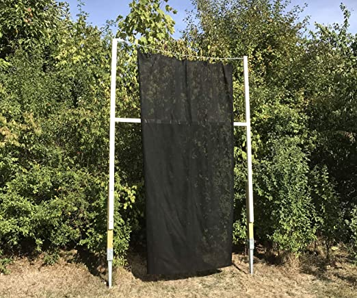 SET: Pfeilfangnetz grün 2m x 3m Zubehör extra safe inkl B x H