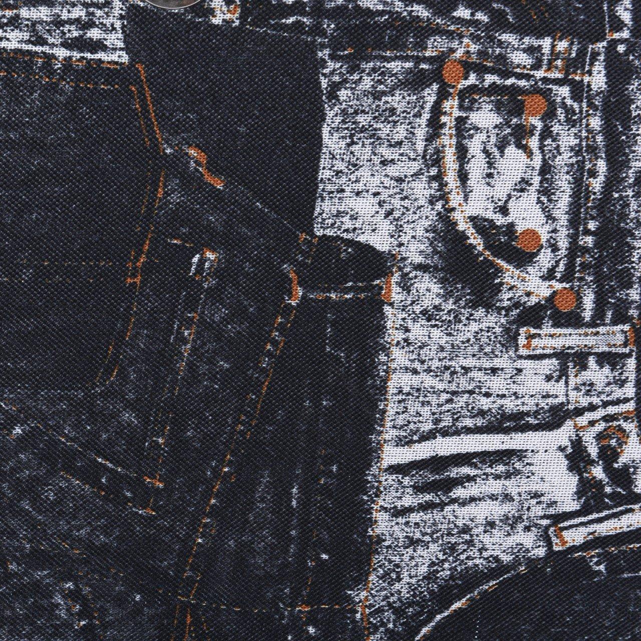 Pilotenkoffer & Trolleys Trolley Pilotkoffer Reisetrolley Handgepäck Geschäftskoffer Mit Jeans-motiv