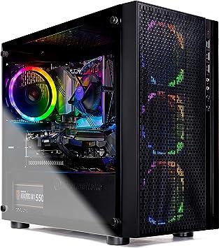 Amazon.com: SkyTech Blaze Ryzen 5 1600 6-Core 3.2 GHz ...