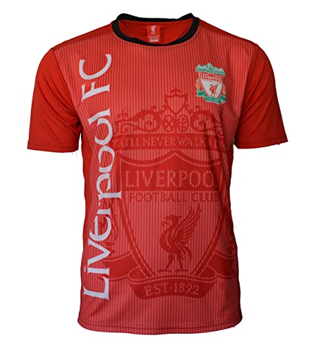 44313e8e828 Liverpool Soccer Jersey Adult Training Custom Name and Number (S, NO NAME  -RED