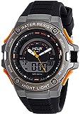 Helix Analog-Digital Black Dial Unisex Watch - TWESK0301