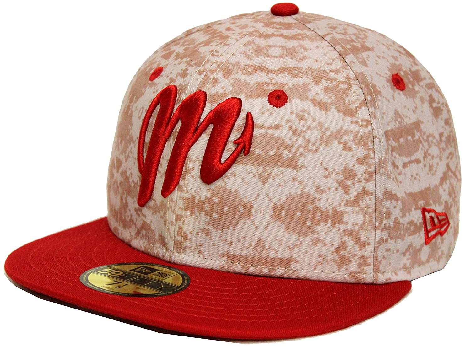 New Era 59Fifty Piratas de Campeche Red Fitted Cap (7 3 4) at Amazon Men s  Clothing store  7cae0e6ebaa2