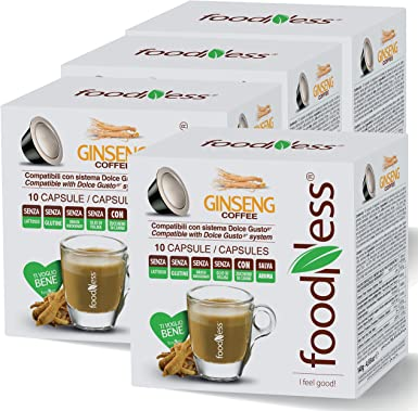Cápsulas de Ginseng Foodness. Pack Ahorro de 40 Cápsulas ...