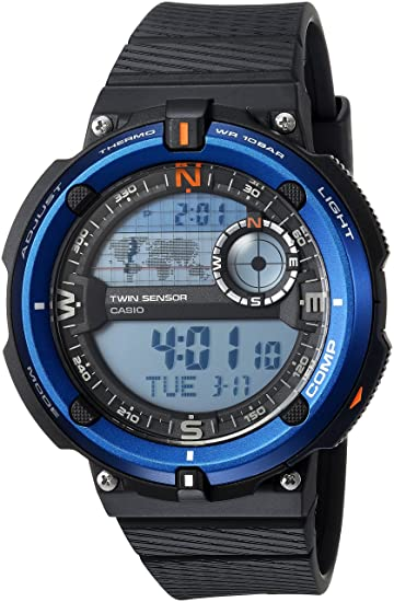 Casio Mens Twin Sensor SGW600H Casual Watch