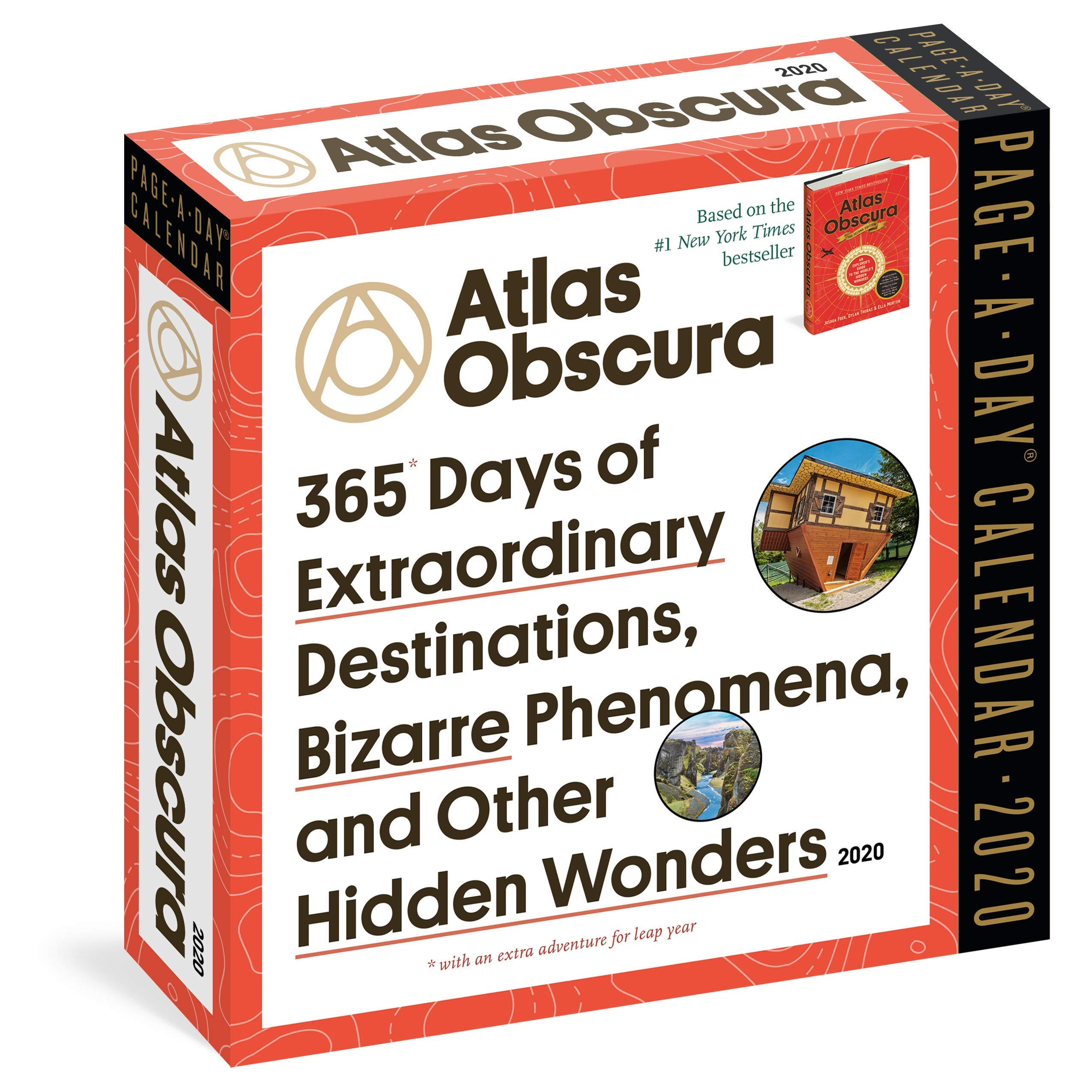 Day To Day Calendar 2020 Atlas Obscura Page A Day Calendar 2020: Atlas Obscura