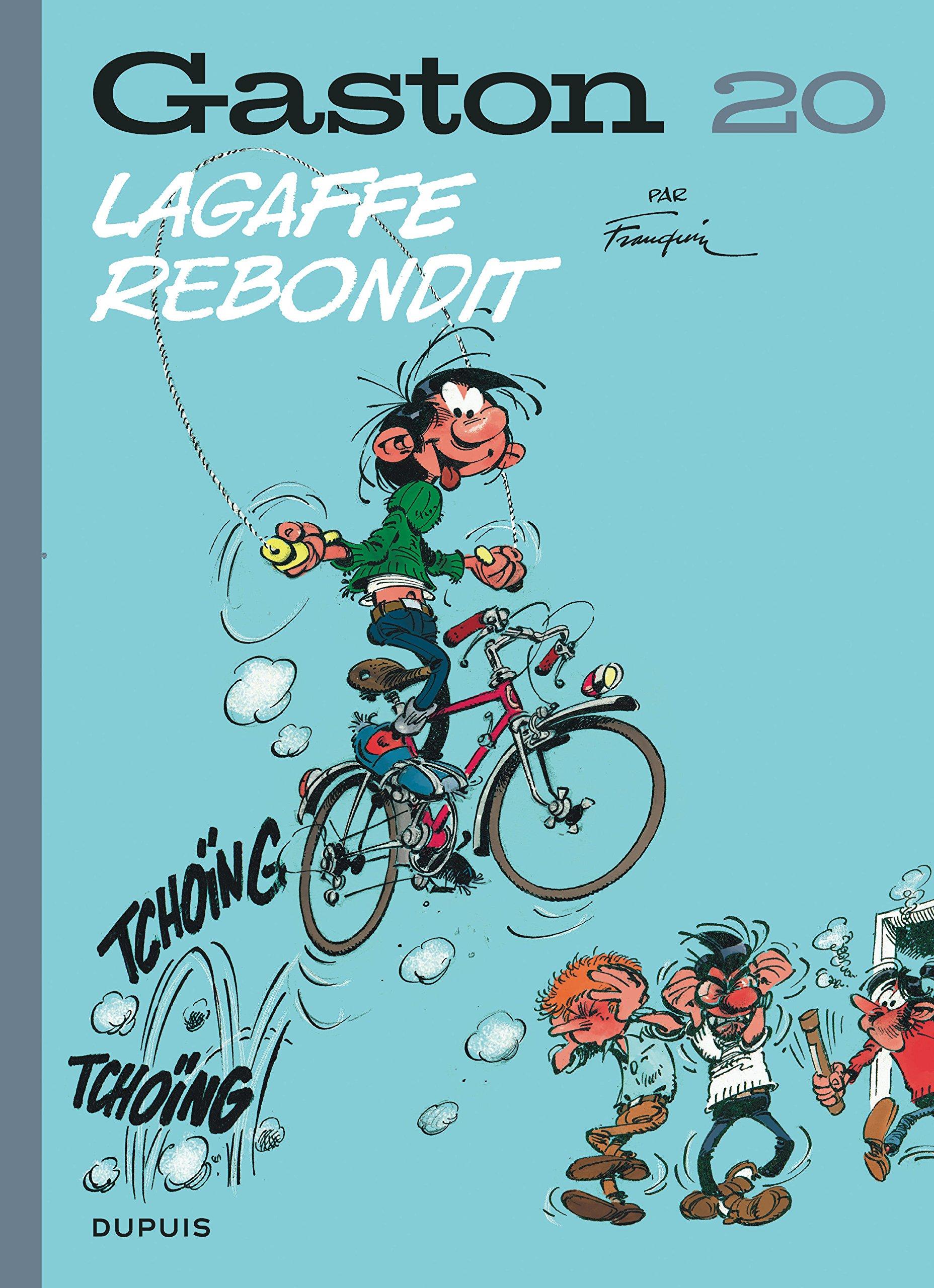 Gaston (Edition 2018) - tome 20 - Lagaffe rebondit (Edition 2018) Album – 16 mars 2018 Franquin Dupuis B076ML49ZF BD jeunesse