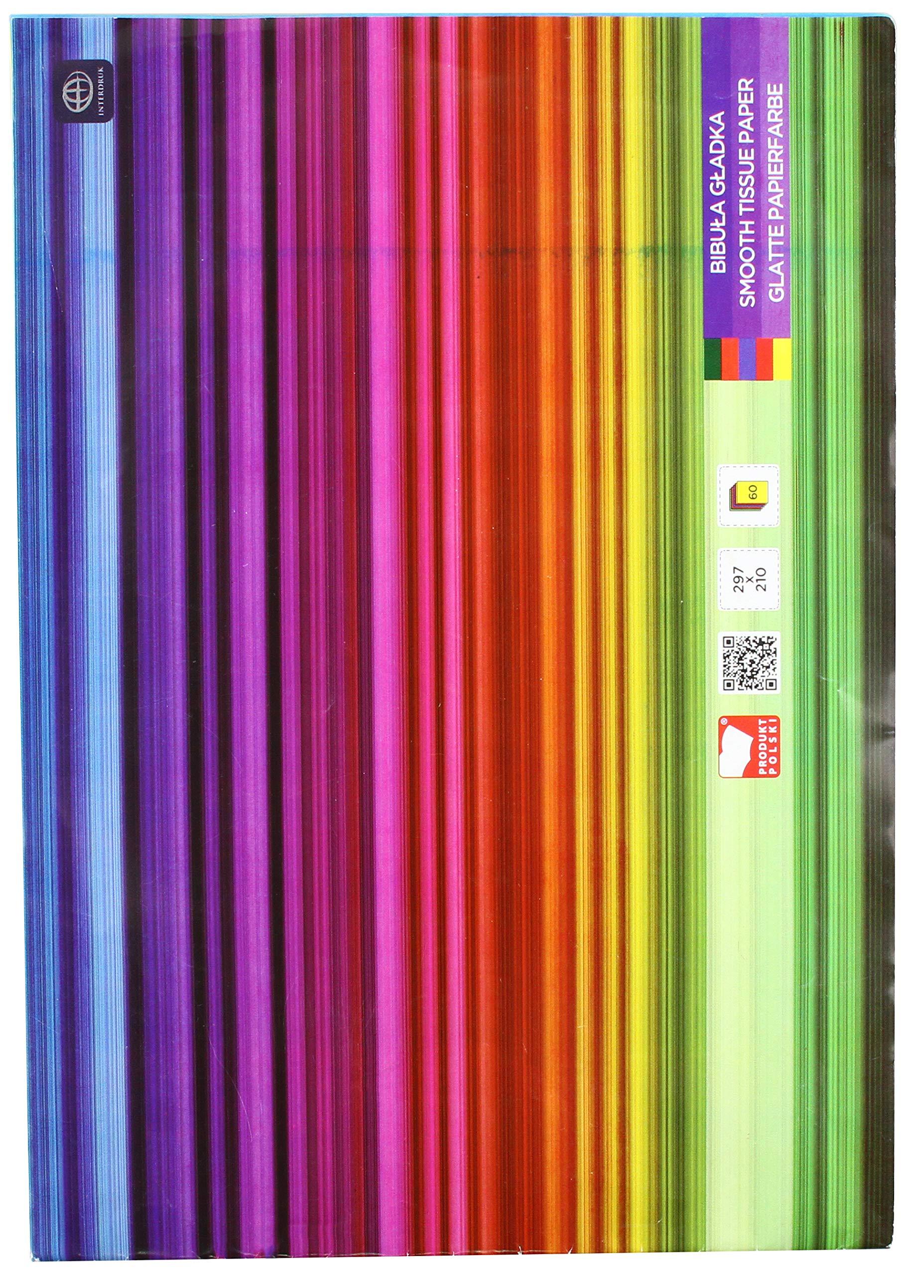 Interdruk BIZESZYT Tissue Paper (Exercise Book A4 60), Multi-Color by Interdruk
