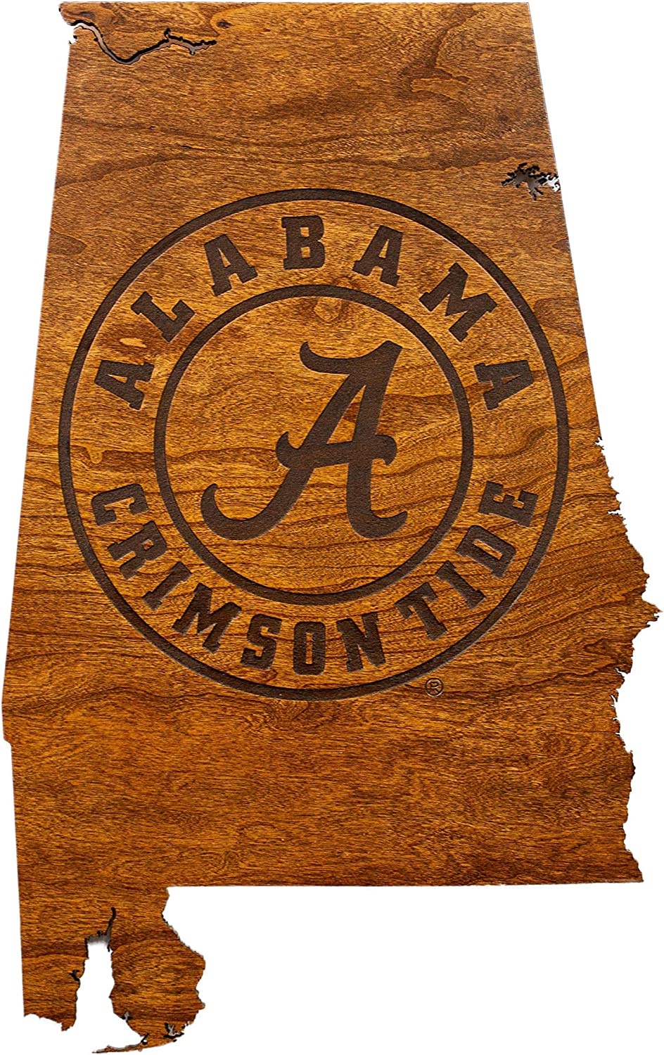 LazerEdge Officially Licensed Collegiate Wooden Wall Hanging