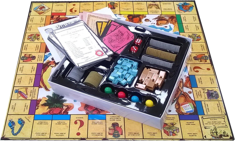 La Ruta Del Tesoro (CEFA Toys 21832): Amazon.es: Juguetes y juegos