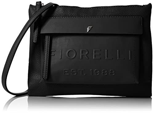6c5f9c8f35e7 Fiorelli Women s Alexa Cross-Body Bag Black (black Deboss)  Amazon ...