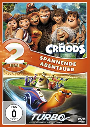 Die Croods / Turbo [Alemania] [DVD]