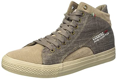 48bd449f57886f Carrera Officer Mix, Baskets Homme, Marron (Taupe 51), 44 EU: Amazon ...