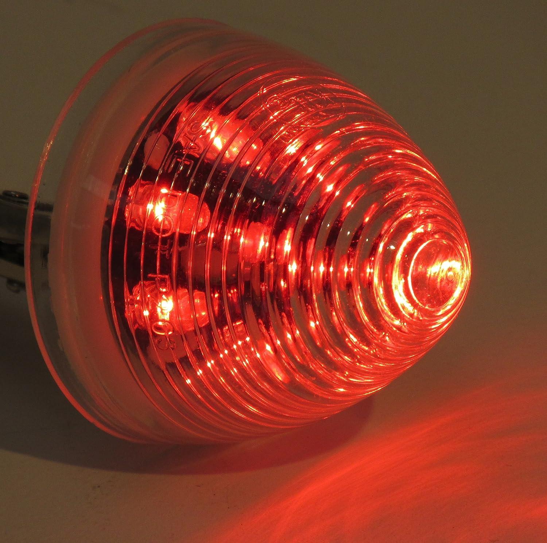 Kaper II 1M-M05RI Red LED Marker//Clearance Light