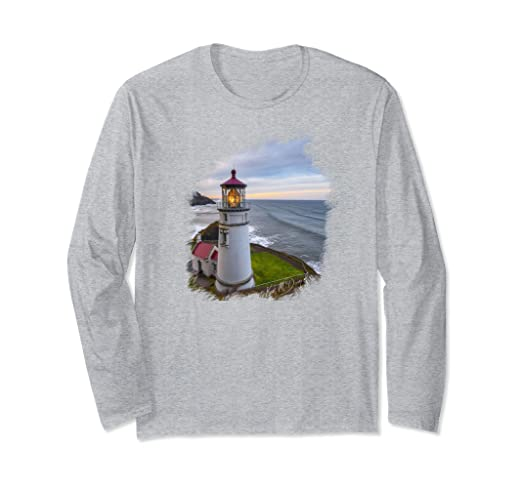 Heceta Head Lighthouse Long-sleeved T-Shirt