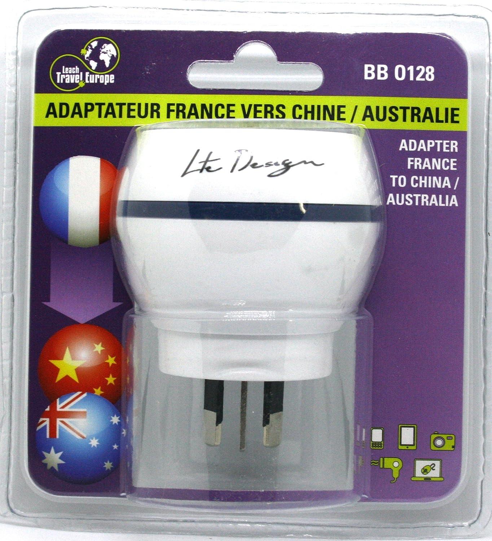 LTE Design - BB0128 - Adaptador de viaje ESPANA para Australia ...