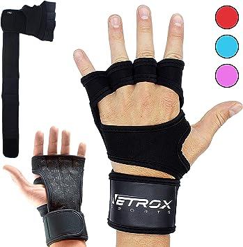 Zughilfen Sporthandschuhe Training Bodybuildinghandschuh SET Fitnesshandschuhe