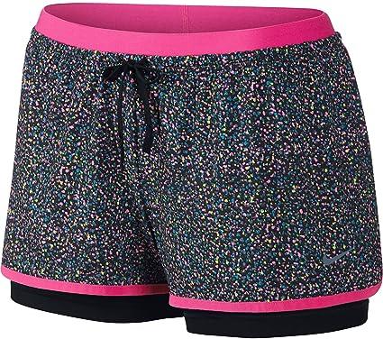 3209fd961da47 Nike Women s Full Flex 2-in-1 Splatter Spot Shorts