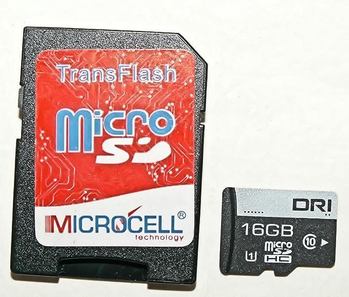 Micro SD Tarjeta Funda Tarjeta de memoria 16 GB Plus SD ...