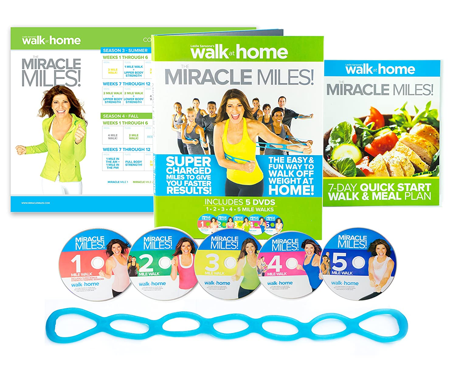 Amazon.com : Walk at Home Leslie Sansone's Miracle Miles! : Sports &  Outdoors