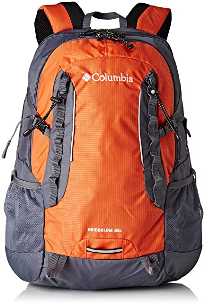 Columbia Bridgeline - Mochila Unisex, Color Hot Pepper/Graphite, tamaño 25 L,