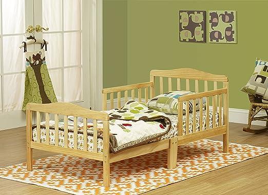 Orbelle 3-6T Toddler Bed, Natural