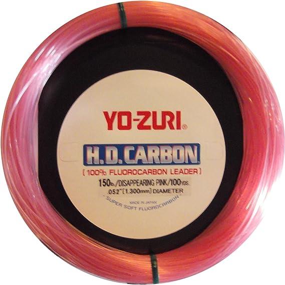 environ 27.43 m 100 Lb CLAIR environ 45.36 kg Yo-zuri Sole de roche 30 Yd naufrage leader NATUREL