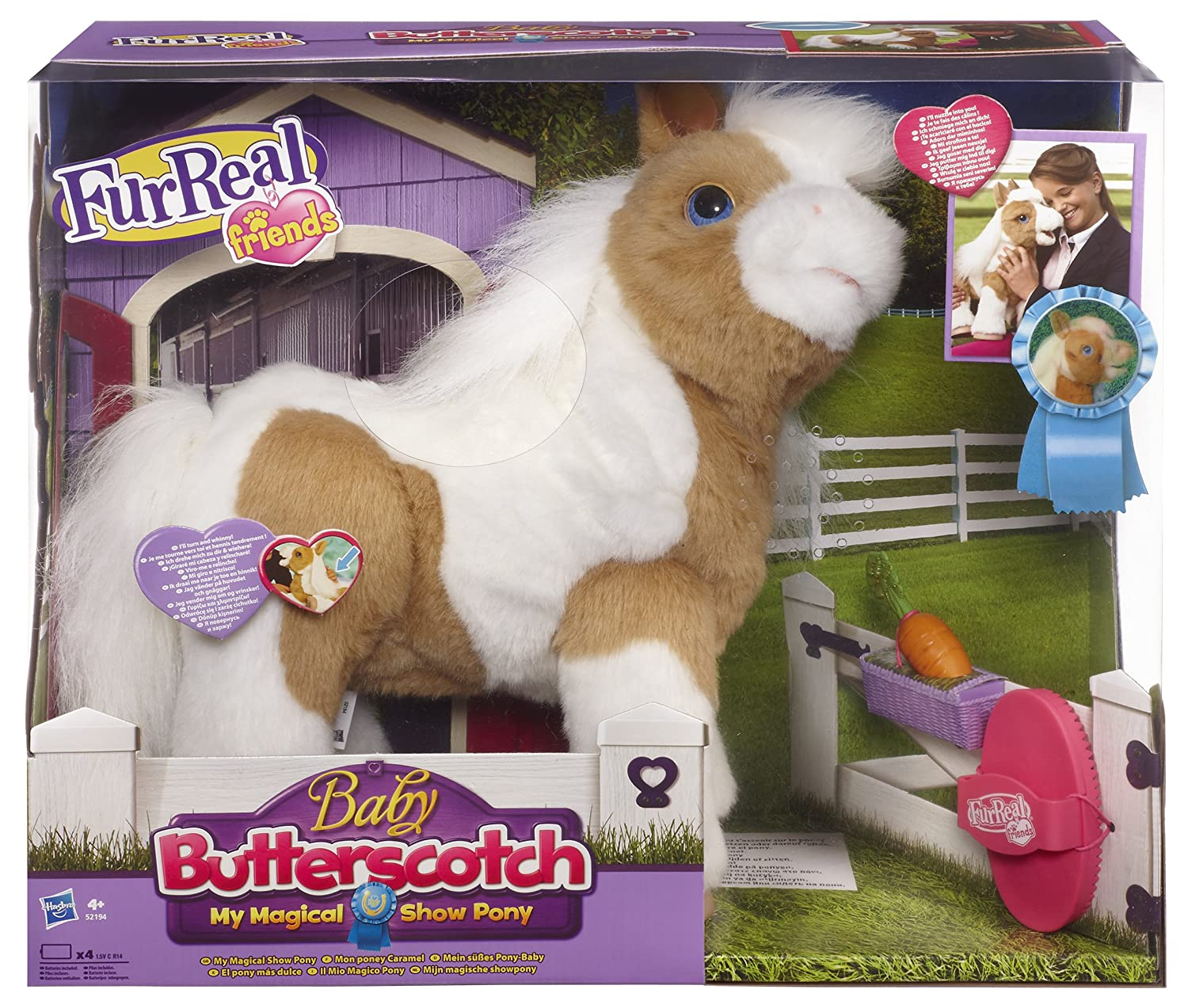 Hasbro FurReal Friends Bebé poni