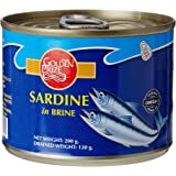 Golden Prize Sardine in Brine, 200g