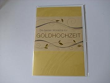Goldene Hochzeit Glückwunschkarte Geschenkkarte Die Besten