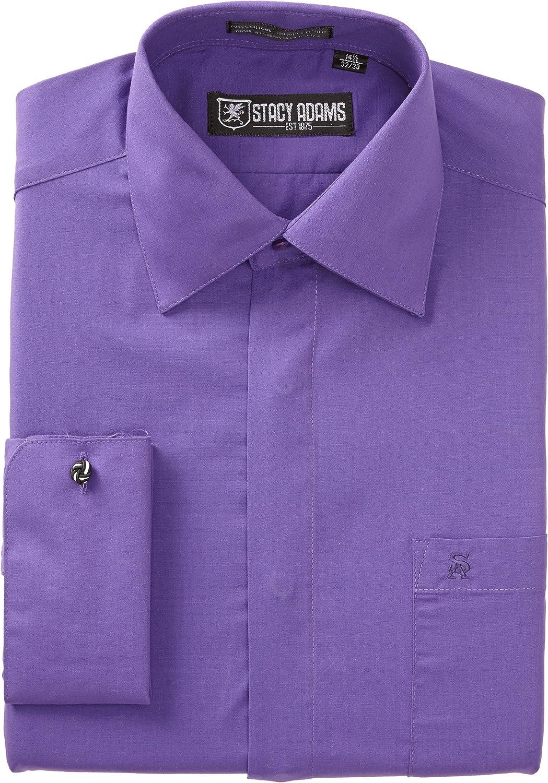 Stacy Adams 39000 - Camisa de Vestir para Hombre - Morado ...