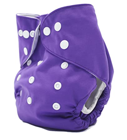 Amazon Com Aio All In One Cloth Diaper With Pocket Leak Guard