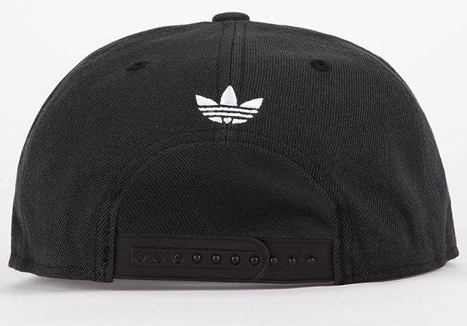 4a6dae776bb Amazon.com  adidas Thrasher Snapback Hat Black White