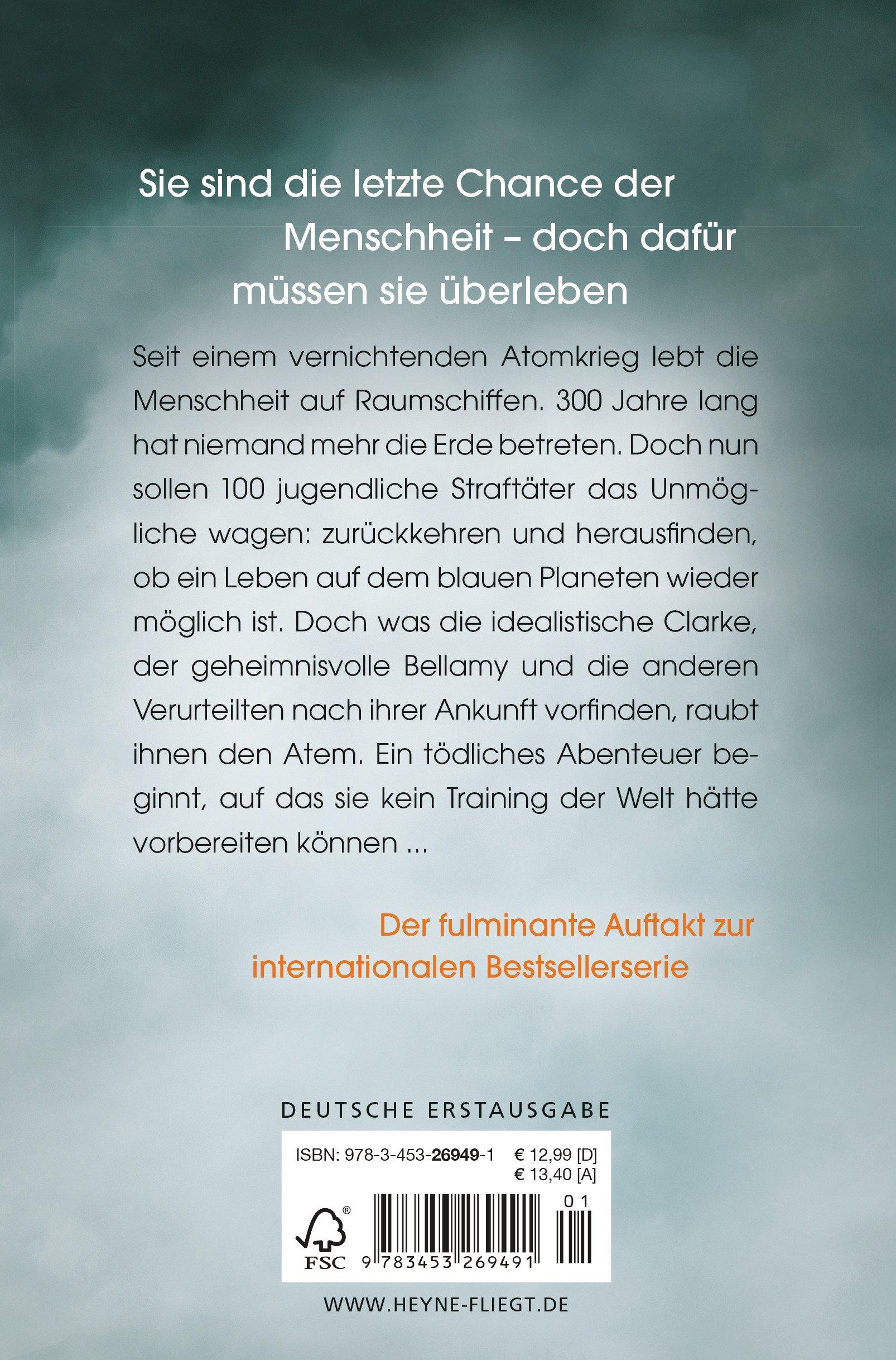 Die 100: Roman (Die 100-Serie, Band 1): Amazon.de: Kass Morgan ...