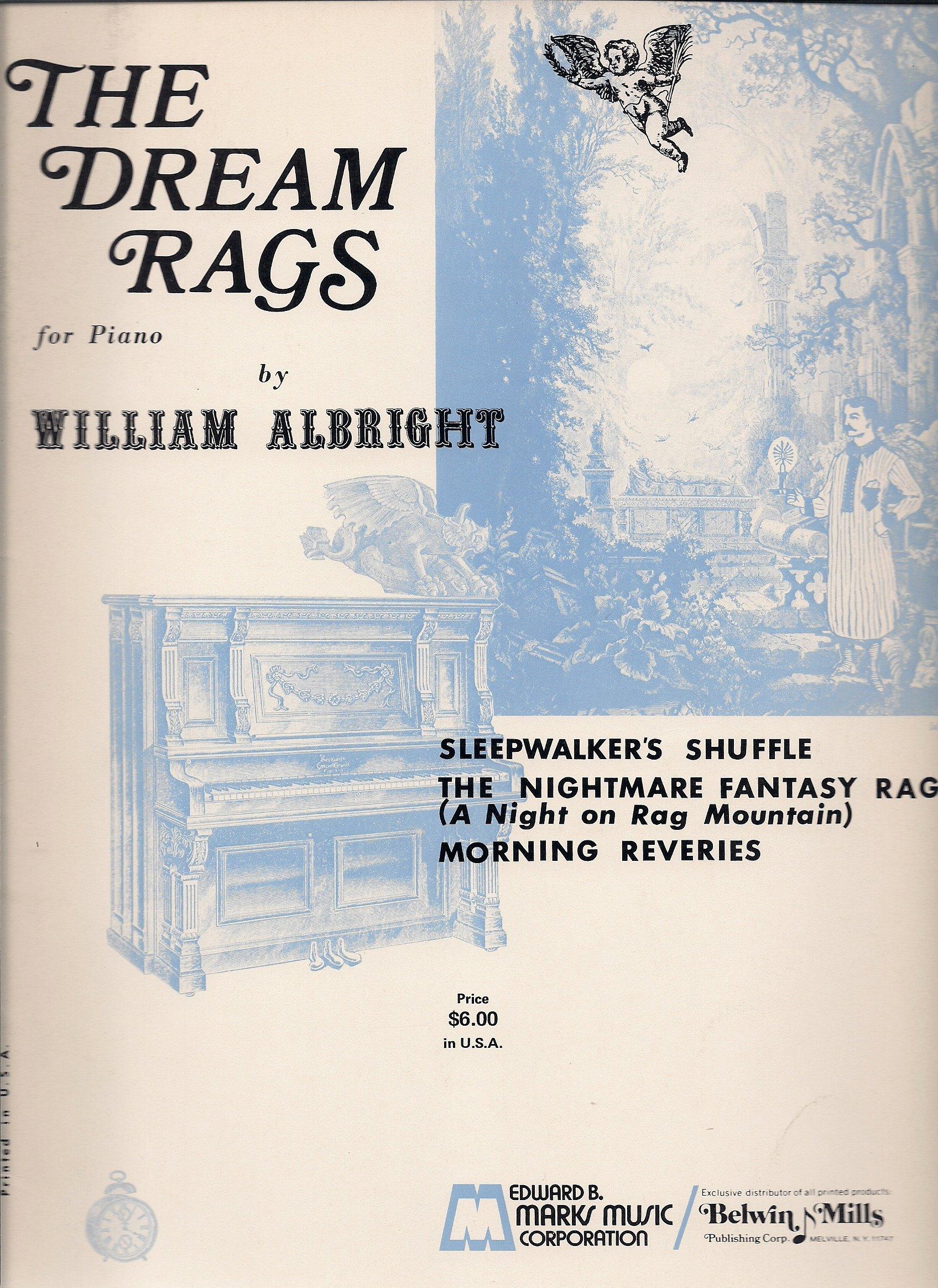 The Dream Rags For Piano William Albright Music Book Amazon