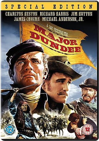 Major Dundee [Import anglais]: Amazon.fr: Richard Harris, James ...