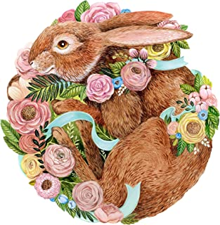 product image for Hester & Cook Die Cut Bunny Bouquet Paper Placemats, Pack of 12