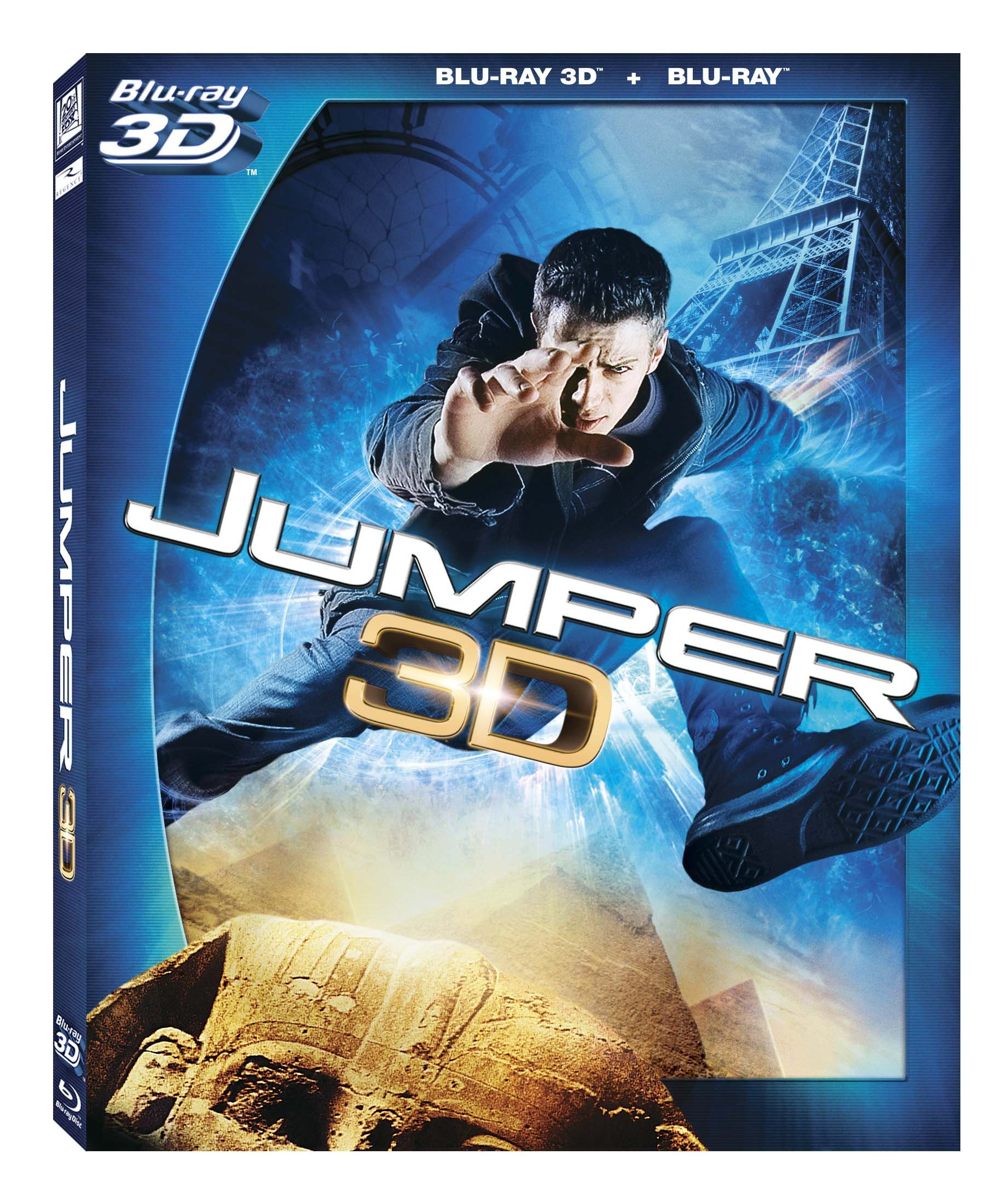 Blu-ray 3D : Jumper (, Digital Theater System, AC-3, Dolby, 3 Dimensional)