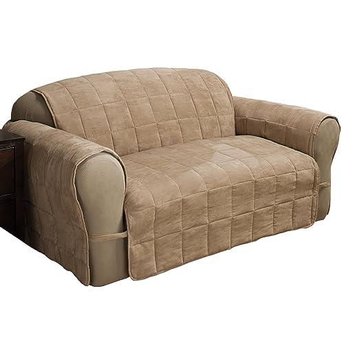 Leather Sofa Cover Amazon Com