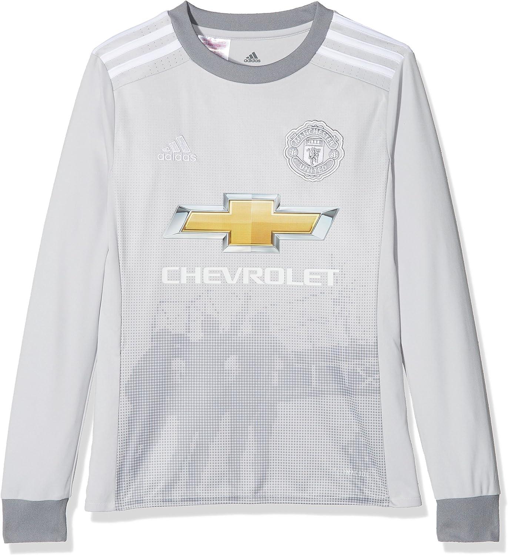 Adidas Kid S Az7561 176 Manchester United Replica Third Jersey Lgh Solid Grey White Grey Size 176 Amazon Co Uk Clothing