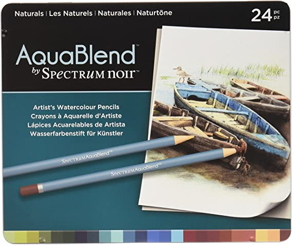 ColourTint Arts /& Crafts Pencil Set Nature Spectrum Noir Primary 24pk