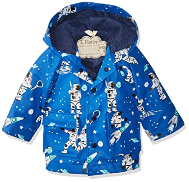 e6e36895f Amazon.com  Hatley Baby Boys  Classic Printed Raincoat  Clothing