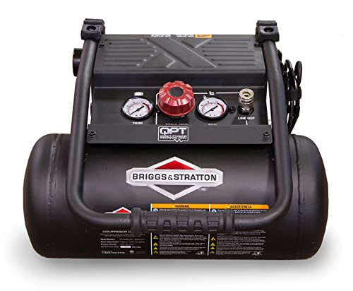 Briggs Stratton 4-Gallon Quiet Power Technology Air Compressor 074060-00