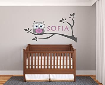 Amazon.com: Personalized Name Owl And Branches - Prime ...
