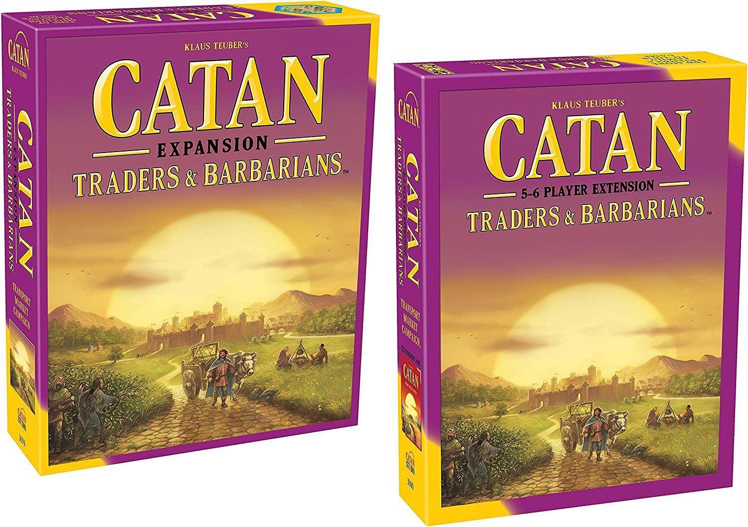 Catan: Traders & Barbarians (5ª edición) con Catan: Traders & Barbarians 5-6 Player Extension 5th Edition: Amazon.es: Juguetes y juegos