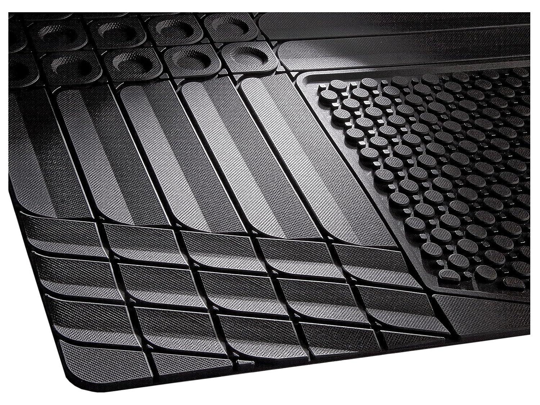 Allwetter Kofferraummatte  in schwarz 1-teilig CarFashion Daytona KR1 zuschneidbar Kofferraumschutz