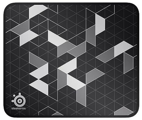 0312c7068b4 Amazon.com: SteelSeries QcK Gaming Surface - Medium Stitched Edge ...